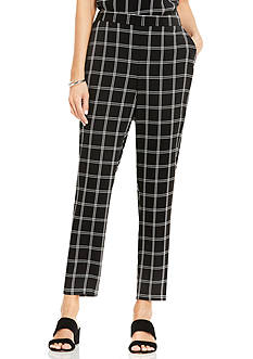Vince Camuto Pull On Slim Leg Pants