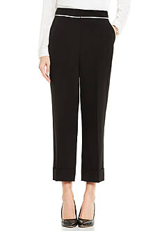 Vince Camuto Straight Leg Cuffed Pant