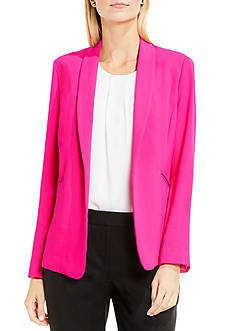 Vince Camuto Shawl Collar Kiss Front Jacket