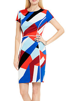 Vince Camuto Marina Blocks Sheath Dress