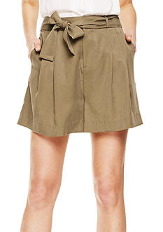 Vince Camuto Pleated Short