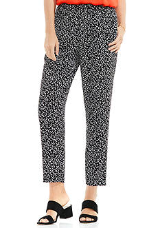 Vince Camuto Dotted Harmony Soft Pull On Pants