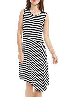 Vince Camuto Havana Striped Dress