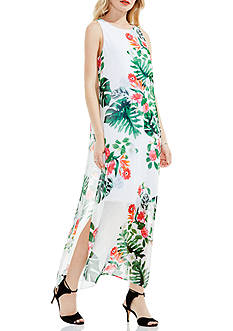 Vince Camuto Sleeveless Havana Maxi Dress