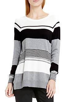 Vince Camuto Colorblock Stripe Sweater