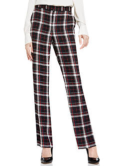 Vince Camuto Harbor Plaid Flare Pants