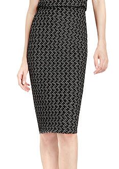 Vince Camuto Cable Knit Pencil Skirt