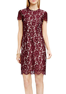 Vince Camuto Scallop Lace Dress