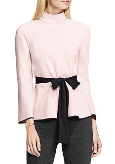 Vince Camuto Bell Sleeve Mock Neck Top