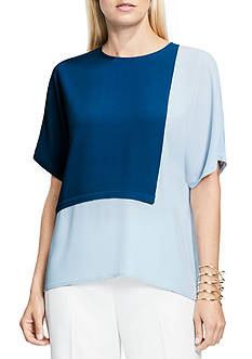 Vince Camuto Colorblocked Blouse