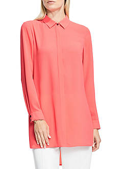 Vince Camuto Button Up Tunic