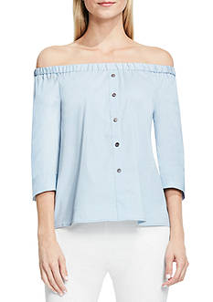 Vince Camuto Off Shoulder Blouse