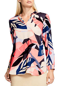 Vince Camuto Modern Tropics Blouse