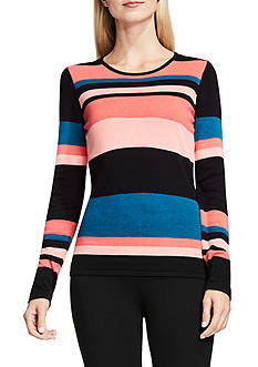 Vince Camuto Multi Color Stripe Sweater