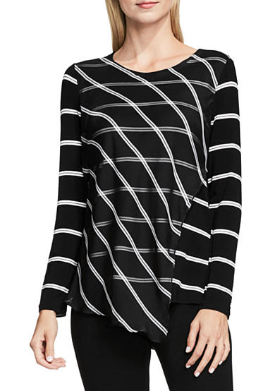Vince Camuto Stripe Duet Top