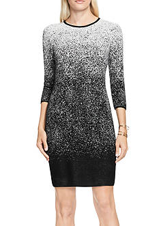 Vince Camuto Ombre Jacquard Sweater Dress