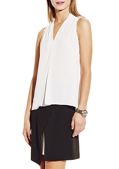 Vince Camuto Front Pleat Blouse