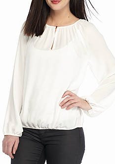 Vince Camuto Long Sleeve Peasant Blouse