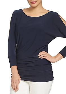 CHAUS Cold Shoulder Top