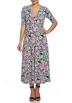 CHAUS Floral Maxi Dress