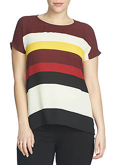 CHAUS Marquee Stripe Blouse
