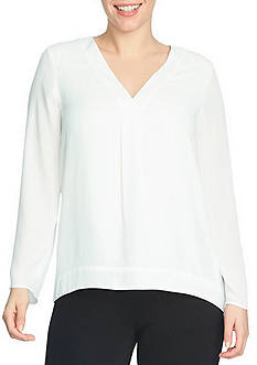 CHAUS Long Sleeve Blouse