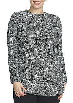 CHAUS Long Sleeve Mock Neck Sweater