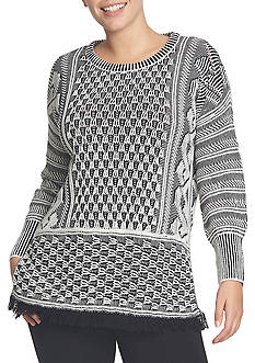 CHAUS Textured Sweater