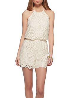 Jessica Simpson Aysha Crochet Romper