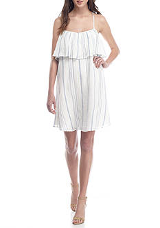 Jessica Simpson Luna Cold Shoulder Dress