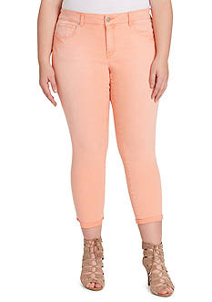 Jessica Simpson Plus Size Forever Rolled Skinny Jean