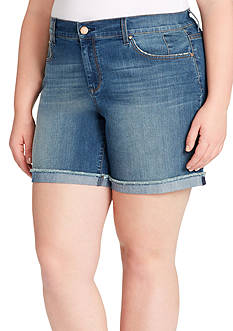 Jessica Simpson Plus Size Mika Best Friend Midi Short