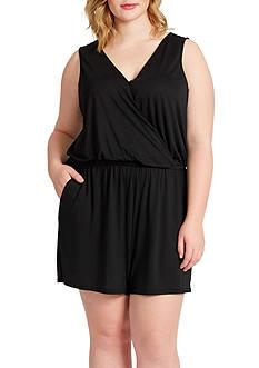 Jessica Simpson Plus Size Urbina Romper