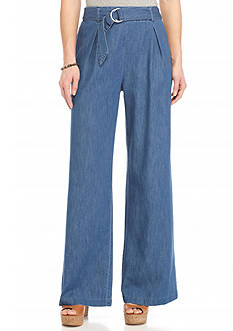 Jessica Simpson Kegan Denim Wide Leg Pants