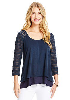 Jessica Simpson Trist Tiered Top