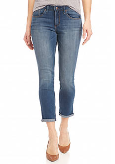 Jessica Simpson Forever Skinny Cropped Jeans