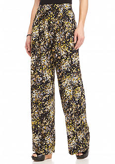 Jessica Simpson Kegan Print Wide Leg Pants