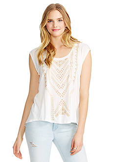 Jessica Simpson Lavi Split Back Tee