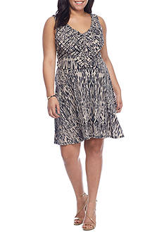 Jessica Simpson Plus Nicola Halter Dress