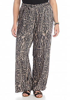 Jessica Simpson Plus Size Lanay Wide Leg Pants