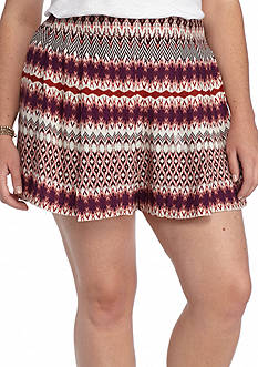 Jessica Simpson Plus Size Izzy Soft Shorts