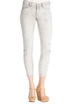 Jessica Simpson Forever Destructed Skinny Crop