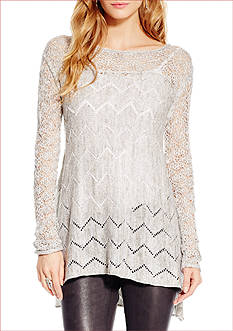 Jessica Simpson Darlanne Pointelle Sweater