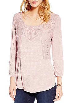 Jessica Simpson Joanna Embroidered Swing Top