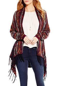 Jessica Simpson Plus Size Fringe Cardigan