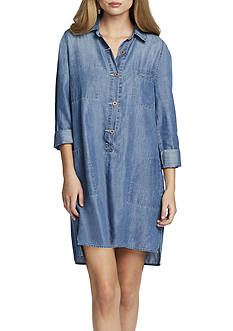 Jessica Simpson Katya Denim Shirtdress