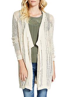 Jessica Simpson Pina Drape Front Sweater
