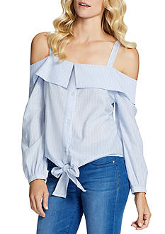Jessica Simpson Violet Cold Shoulder Top