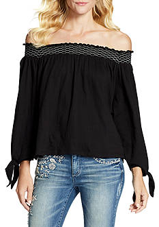 Jessica Simpson Marlena Off The Shoulder Top