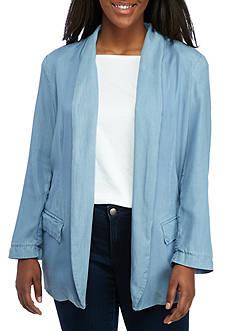 Jessica Simpson Plus Size Jasmine Soft Blazer